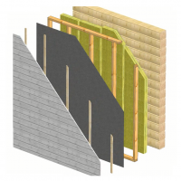 Outside insulation