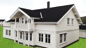 Prefab timber frame houses