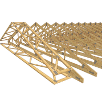 Truss with bracing